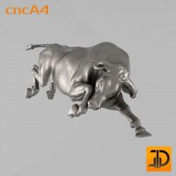 Резная статуя быка cncA4 - 3D ЧПУ, 3D принтер