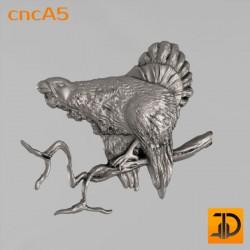 Резной тетерев cncA5 - 3D ЧПУ