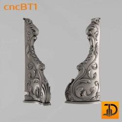 Балясина cncBT1 - 3D ЧПУ
