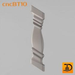 Балясина cncBT10 - 3D ЧПУ