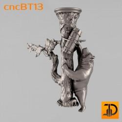 Балясина cncBT13 - 3D ЧПУ