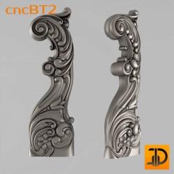 Балясина cncBT2 - 3D ЧПУ