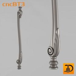 Балясина cncBT3 - 3D ЧПУ