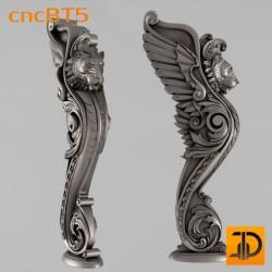 Балясина cncBT5 - 3D ЧПУ