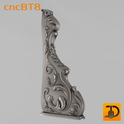 Балясина cncBT8 - 3D ЧПУ