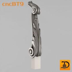 Балясина cncBT9 - 3D ЧПУ