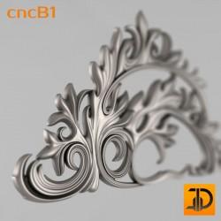 Спинка кровати cncB1 - 3D ЧПУ