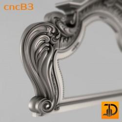 Спинка кровати cncB3 - 3D ЧПУ