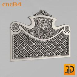 Спинка кровати cncB4 - 3D ЧПУ