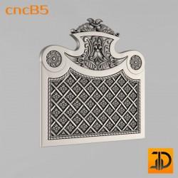 Спинка кровати cncB5 - 3D ЧПУ