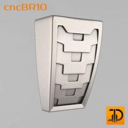 Кронштейн cncBR10 - 3D модель ЧПУ