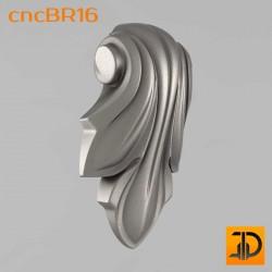 Кронштейн cncBR16 - 3D модель ЧПУ