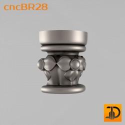 Кронштейн cncBR28 - 3D модель ЧПУ