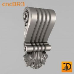 Кронштейн cncBR3 - 3D модель ЧПУ