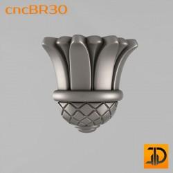 Кронштейн cncBR30 - 3D модель ЧПУ