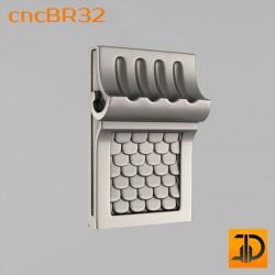 Кронштейн cncBR32 - 3D модель ЧПУ