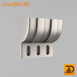 Кронштейн cncBR35 - 3D модель ЧПУ