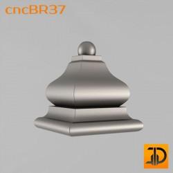 Кронштейн cncBR37 - 3D модель ЧПУ