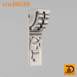 Кронштейн cncBR39 - 3D модель ЧПУ