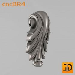 Кронштейн cncBR4 - 3D модель ЧПУ