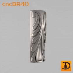 Кронштейн cncBR40 - 3D модель ЧПУ