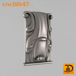 Кронштейн cncBR47 - 3D модель ЧПУ
