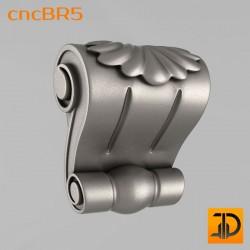 Кронштейн cncBR5 - 3D модель ЧПУ