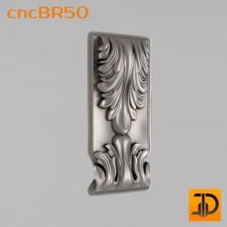 Кронштейн cncBR50 - 3D модель ЧПУ