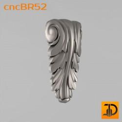 Кронштейн cncBR52 - 3D модель ЧПУ