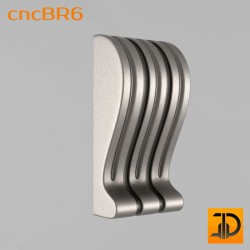 Кронштейн cncBR6 - 3D модель ЧПУ