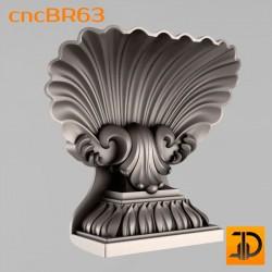 Кронштейн cncBR63 - 3D модель ЧПУ