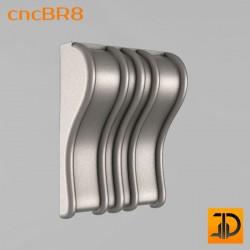 Кронштейн cncBR8 - 3D модель ЧПУ