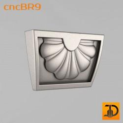 Кронштейн cncBR9 - 3D модель ЧПУ