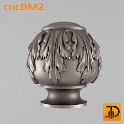 Резные шишки cncBM2 - 3D модель для ЧПУ