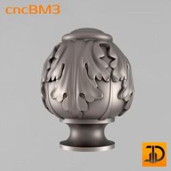 Резные шишки cncBM3 - 3D модель для ЧПУ