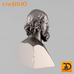 "Бюст ""Тенисон"" cncBS10 - 3D ЧПУ"