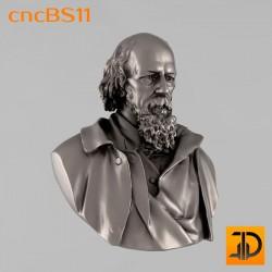"Бюст ""Теннисон"" cncBS11 - 3D ЧПУ"