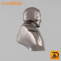 Бюст cncBS12 - 3D ЧПУ