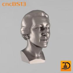 Бюст cncBS13 - 3D ЧПУ