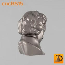 """Бюст """"Бетховен"""" cncBS15 - 3D ЧПУ"""