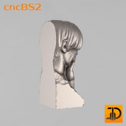 """Бюст """"Писатель"""" cncBS2 - 3D ЧПУ"""