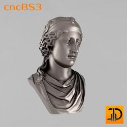 "Бюст ""Афродита"" cncBS3 - 3D ЧПУ"
