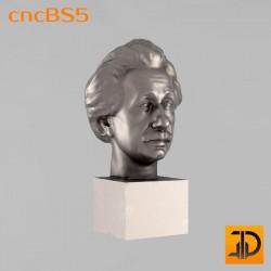 """Бюст """"А.Энштейн"""" cncBS5 - 3D ЧПУ"""