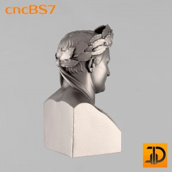 "Бюст ""Наполеон"" cncBS7 - 3D ЧПУ"