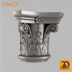 Капитель cncC1 - 3D ЧПУ