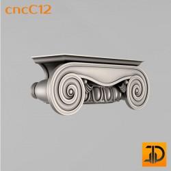 Капитель cncC12 - 3D ЧПУ