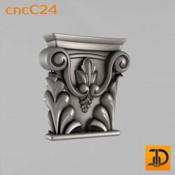 Капитель cncC24 - 3D ЧПУ
