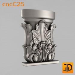 Капитель cncC25 - 3D ЧПУ