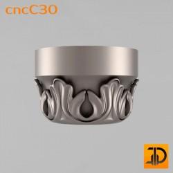 Капитель cncC30 - 3D ЧПУ