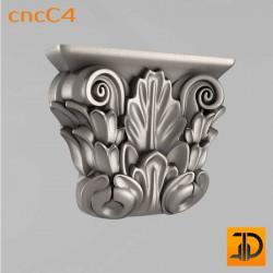 Капитель cncC4 - 3D ЧПУ